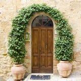 dörrar älskvärda tuscan royaltyfri fotografi