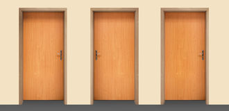 dörrar Royaltyfria Bilder