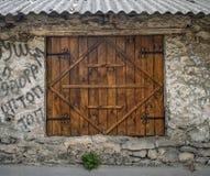 Dörrar av Pyatigorsk Arkivbild