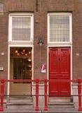 dörrar två Arkivfoto