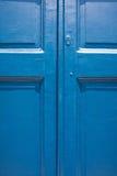 Dörrbakgrund i blått Royaltyfria Foton