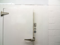 Dörren av går i cooler Arkivfoton