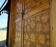 Dörren av tältet Royaltyfri Fotografi