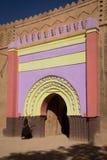 Dörren för casbah` s Arkivfoto