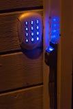 Dörren kodifierar låser Royaltyfri Bild