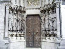 Dörren till domkyrkan Royaltyfri Bild
