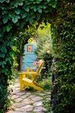 dörrengelska arbeta i trädgården banahemlighet Royaltyfria Foton