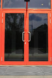 Dörrexponeringsglas. Arkivbild