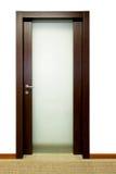 dörrexponeringsglas Royaltyfria Bilder