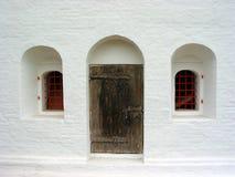 dörrfönster Fotografering för Bildbyråer