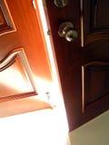 dörrframgång till Royaltyfria Bilder