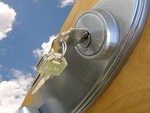 dörrframgång till Fotografering för Bildbyråer