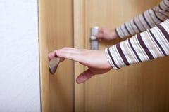 dörrhänder royaltyfria foton