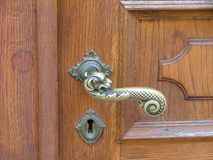 dörrhandtag arkivbild