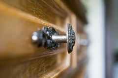 dörrhandtag Arkivfoton