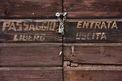 dörringång Arkivbilder