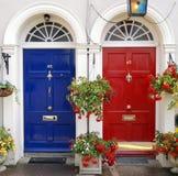dörringång ireland Arkivbild