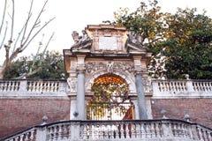 Dörrport Rome Italien Arkivfoton