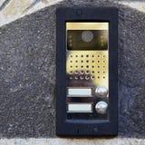 dörrspeakerphone Arkivfoto