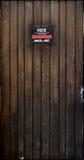 dörrträ royaltyfri foto