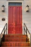 dörrtrappa Fotografering för Bildbyråer