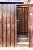 dörrväggträ Fotografering för Bildbyråer