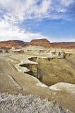 dött berghav för forntida kanjon Arkivbilder