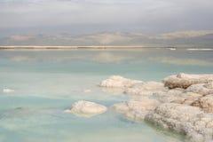 dött hav för kust Arkivbilder