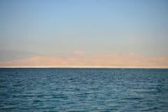dött hav för kust Royaltyfri Fotografi
