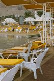 dött hav för strand Fotografering för Bildbyråer