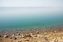 Dött hav i Jordanien Arkivbild