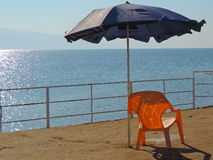 Dött hav, Jerusalem - strandsida royaltyfria foton