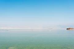 dött israel hav arkivbild