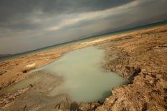 dött israel s hav Arkivbild