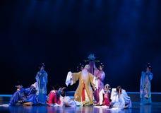 """dött och borta-rekord av sydliga Lövruska-jiangxi opera""""fourdrömmar av linchuan"""" arkivfoton"""
