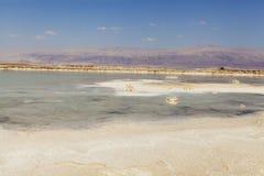 dött salt hav Arkivbild