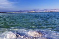 dött salt hav Royaltyfri Fotografi