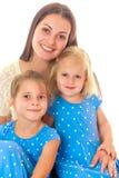 döttrar mother två Royaltyfri Bild