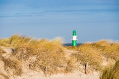 Düne auf der Ostseeküste Stockfotos