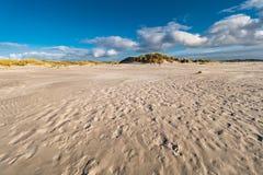 Dünen auf der Nordsee fahren auf die Insel Amrum die Küste entlang Stockfotos