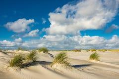 Dünen auf der Nordsee fahren auf die Insel Amrum die Küste entlang Lizenzfreies Stockbild