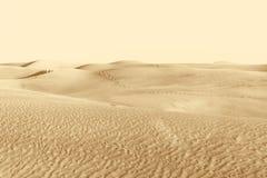 Dünen in der Wüste Stockbild
