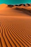 Dünen des Ergs Chebbi, Sahara Deser stockfotos