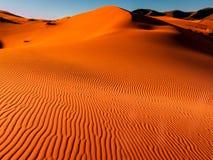 Dünen des Ergs Chebbi, Sahara Deser lizenzfreie stockfotos