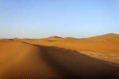 Dünen, Hamada du Draa, Marokko Lizenzfreie Stockfotos