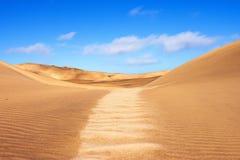 Dünen-Landschaft Namibischer Wüste Stockfoto