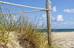 Dünen am Strand Lizenzfreie Stockbilder