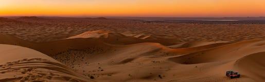 Dünen von Merzouga Wüste des Saharas marokko stockfotografie