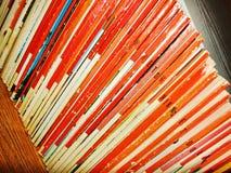 Dünne Bücher Lizenzfreies Stockfoto