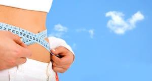 Dünne Karosserie - verlieren Sie Gewichtserie Lizenzfreie Stockbilder